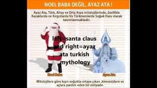 wer ist nikolaus | who is santa claus | noel baba kim | Turkish Mythology | culture thief west