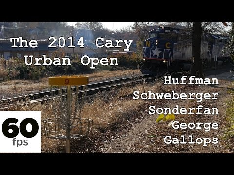 2014 Cary (NC) Downtown Urban Open (Huffman, Schweberger, Sonderfan, George, Gallops) (60fps)