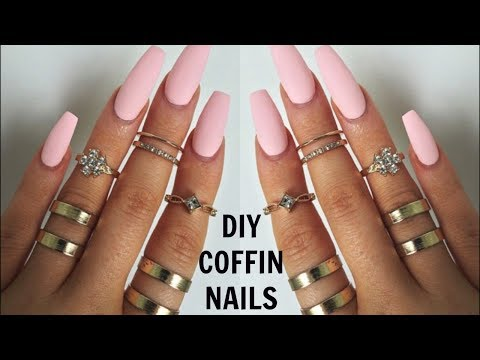 EASY LONG LASTING NAILS DESIGN AT HOME