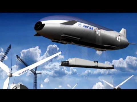Blimp Cargo Vehicle: World's First Floating Super-Zeppelin