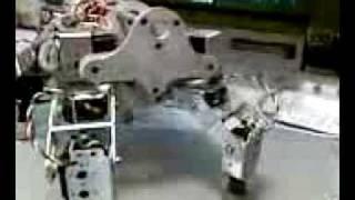 Felix a 4x4 DOF robot quad