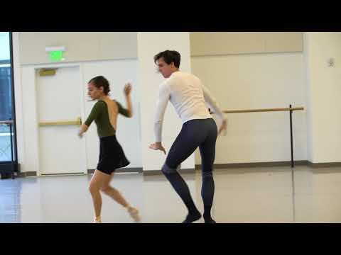 World Ballet Day - Fox on The Doorstep Ballet West Rehearsal