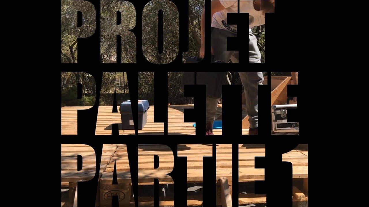 Projet Terrasse Et Piscine En Palette Explication Partie1 2