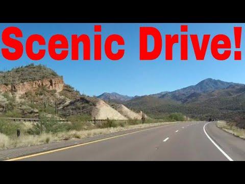 B-line Highway 87 North Bound - Four Peaks to Payson, Arizona