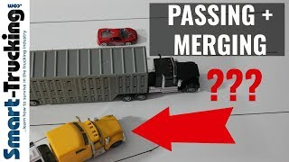 What Truckers Should Know About Passing + Merging (The Right Way!)