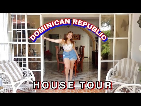 My house in Dominican Republic *Tour*