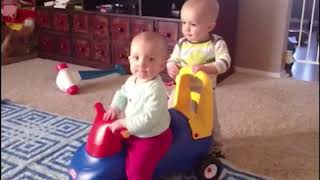 TOP BEST Funny Baby Falling Down Moments -  Funniest Babies Video