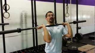 Mobility for the front rack and Jerk position
