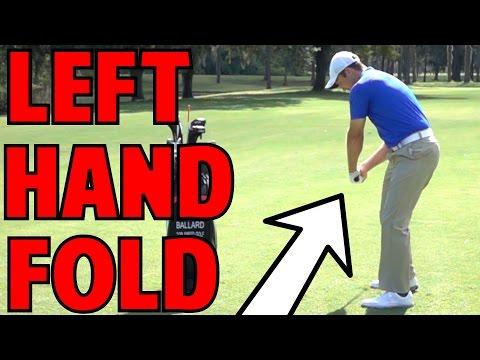 Golf Follow Through   The Left Hand Fold - YouTube