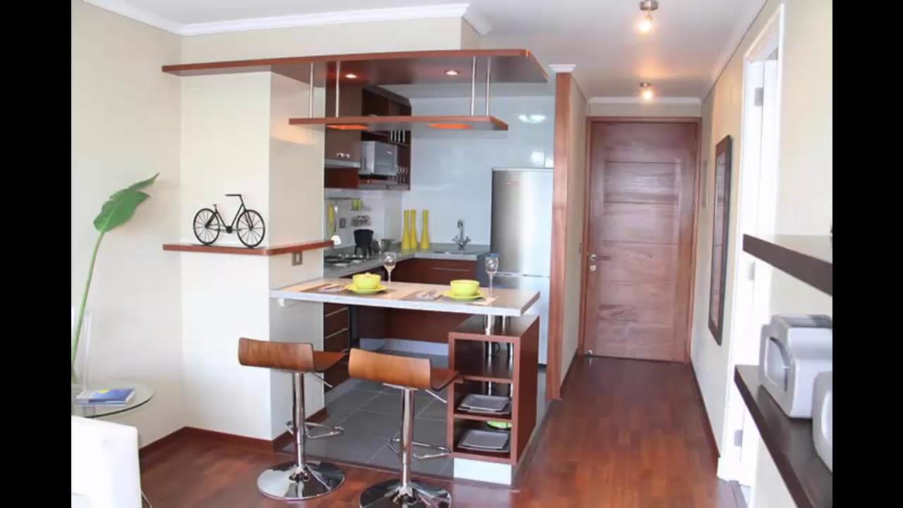 C mo decorar tu cocina con cocina americana youtube - Decorar cocina comedor pequena ...