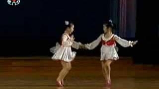 "North Korean Childen Dancing ""Don"