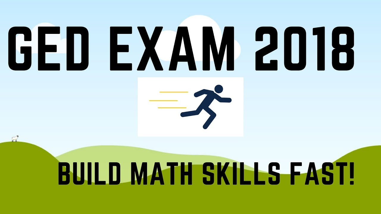GED Exam 2018 Build Your Math Skills Fast (4 Tips) - YouTube