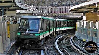 Métro de Paris, ligne 1 : De La Défense à Château de Vincennes à bord d'une rame MP05