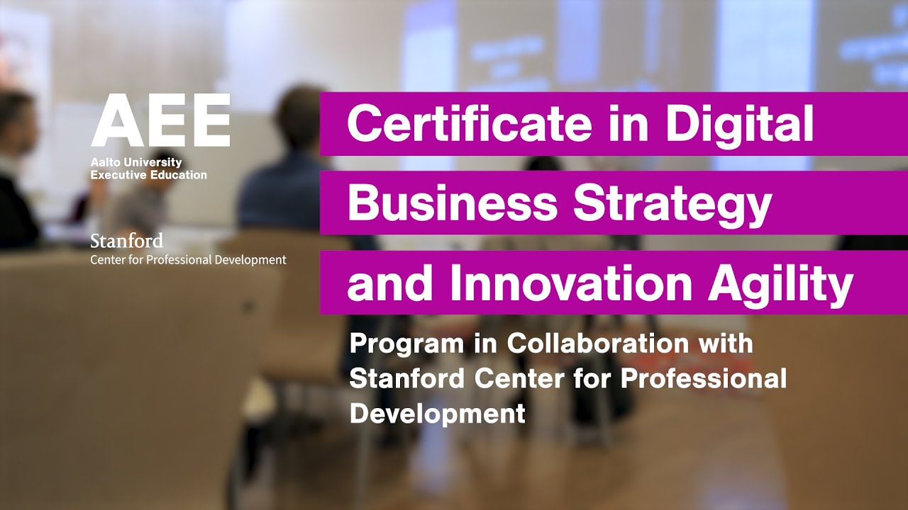 Why participate in to the Certificate in Digital Transformation and Innovation Agility Program?