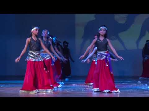 YALLA HABIBI ARABIC DANCE BY LITTLE GIRLS 2016