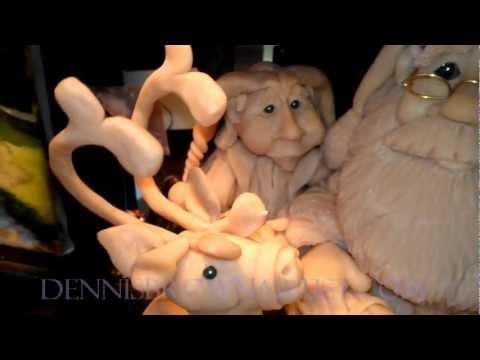 Dennis-Brown-Artist-Santa-Reign-Deer-1.wmv