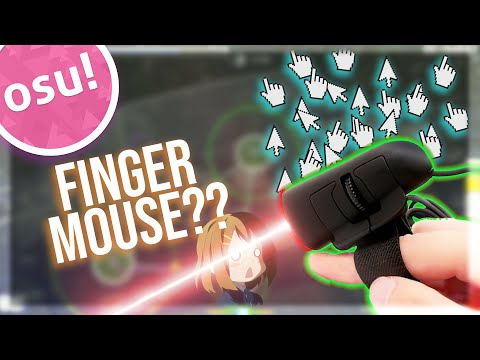 osu! with a Finger Mouse