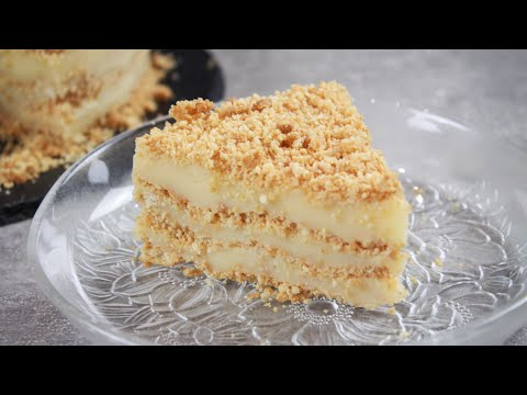 Φανταστική Τούρτα με πτι-μπερ σε 5' (Σαν Μιλφέιγ) - Cake in 5'