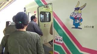 甘木鉄道小郡駅から太刀洗駅へ。