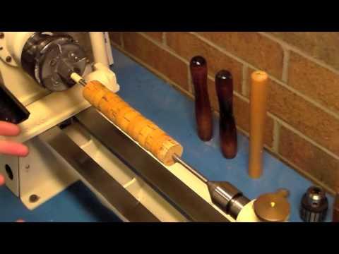 Custom Rod Building Cork Turning Basics
