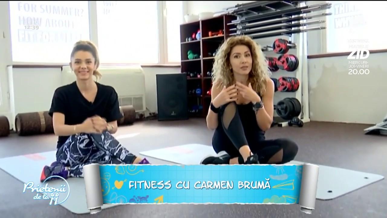 Carmen Brumă, record la antrenamente. 10 ore de exerciţii într-o singură zi   Click
