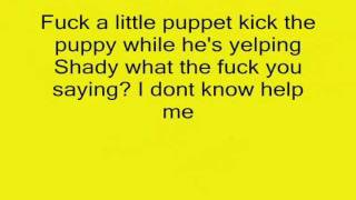Eminem-Insane(lyrics)