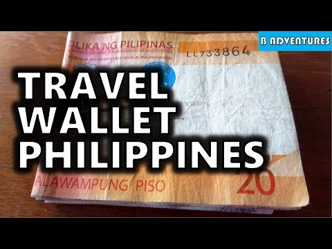 Travel Cash & Wallets, Philippines S3, Vlog 19