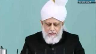 Indépendance, liberté et esclavage : le point de vue de l'Islam - sermon du 25 11 2011