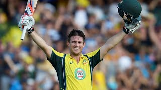 It took 44 innings but was worth the wait. mitchell marsh blasted india to all parts of scg register his maiden international century