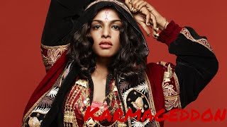 M.I.A. - Karmageddon (LYRICS VIDEO)