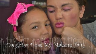 Daughter Does My Makeup TAG!!! @rosemarie627 Thumbnail