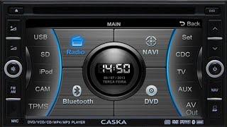 Configurações Da Central Multimídia Caska IWIN CA1624-BR (factory Settings)