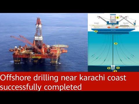 Offshore drilling Pakistan. Near karachi. Indus G block (kekra 1)drilling complete.