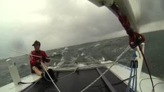 Paper Tiger catamaran cartwheel