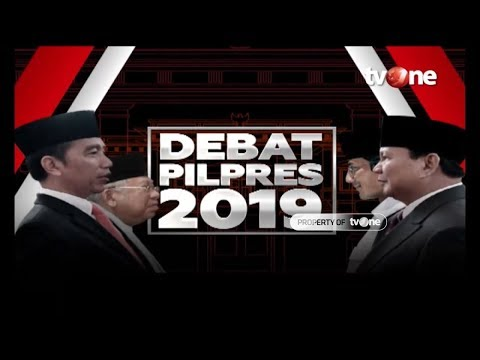 [FULL] Debat Kelima Capres-Cawapres Pemilu 2019 (13/4/2019)