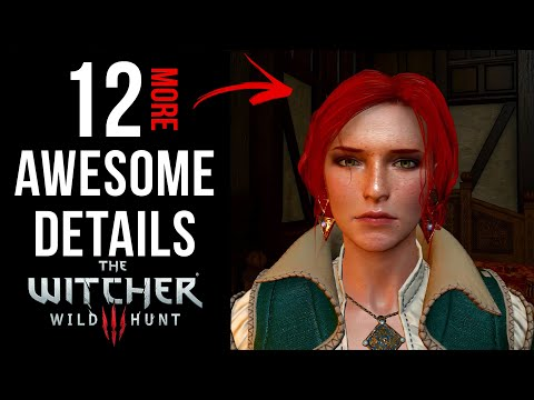 12 AWESOME Details in The Witcher 3: Wild Hunt (Part 2)
