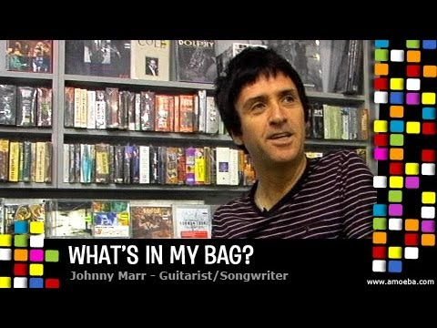 Johnny Marr - What's In My Bag?