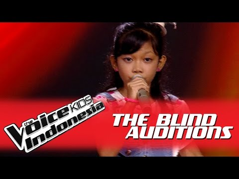"""Putri """"Halo"""" I The Blind Auditions I The Voice Kids Indonesia GlobalTV 2016"""