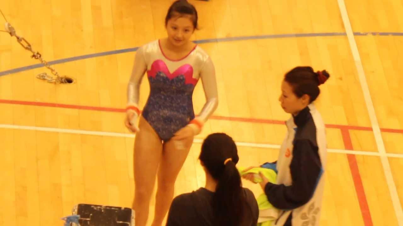 2013 全港中學校際體操決賽 陸思諾 UB