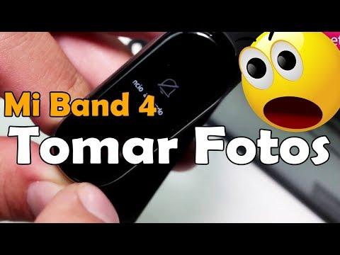 Xiaomi Mi Band 4 Como Activar la Camara del Movil Trucos Mi Band 4