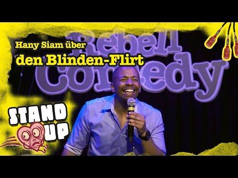 RebellComedy   Hany Siam über den Blinden-Flirt [Stand Up]