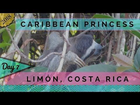 Caribbean Princess - 2018 Panama Canal Cruise Day 7 - Limón, Costa Rica