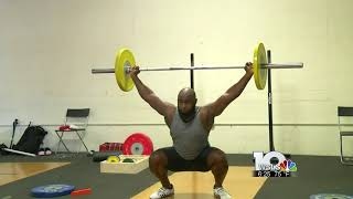 Sports Reporting   Weightlifter