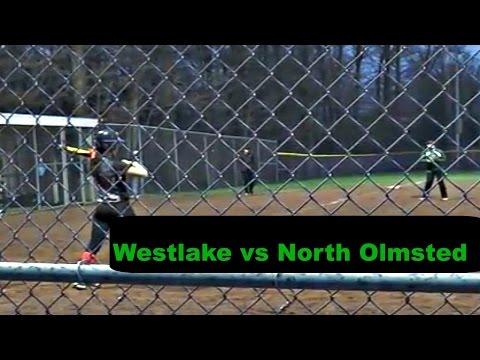 Westlake vs North Olmsted- Softball