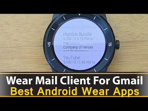 Wear Mail Client For Gmail - Best Android Wear Apps Series
