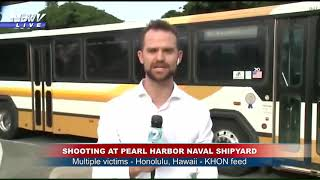 LOCKDOWN: Pearl Harbor Naval Shipyard incident urged people on base to take cover