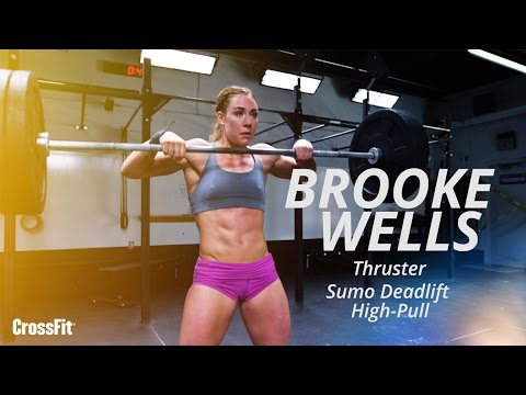 Brooke Wells Does Today's Workout