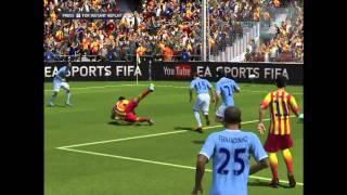 Manchester City vs Barcelona ● FIFA 14 Promo ● Champions League 2014