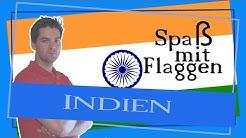 Die Flagge eine Subkontinents? - Indien - Spaß mit Flaggen
