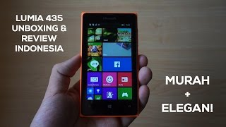 Unboxing & Review Microsoft Lumia 435 Indonesia